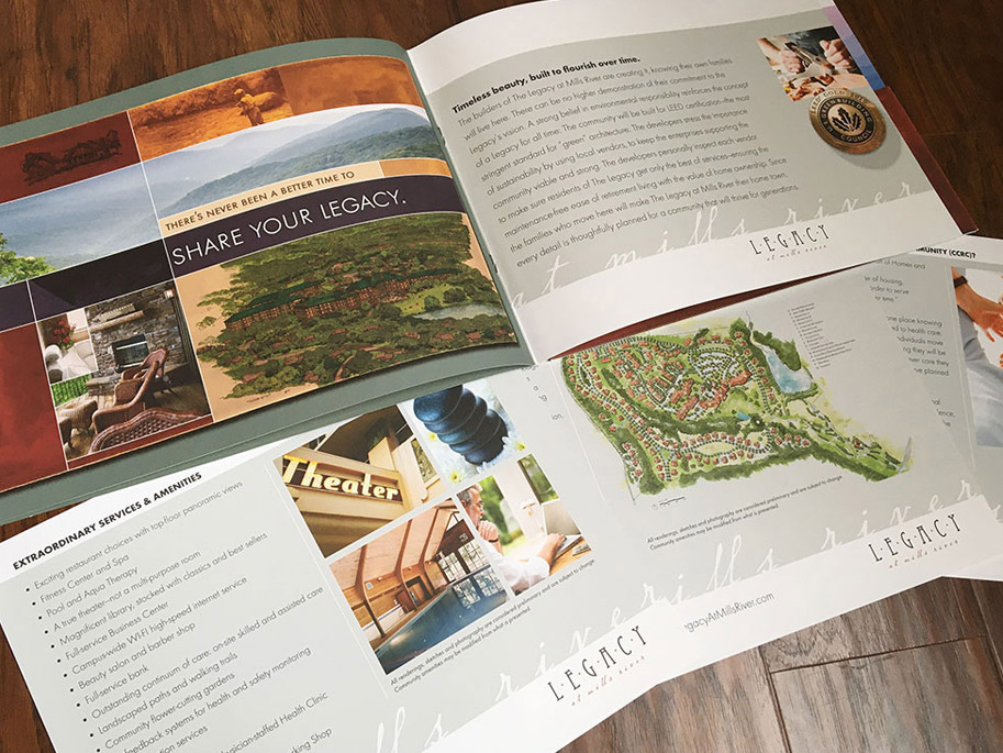 Legacy at Mill River brochure